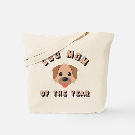 Emoji Dog Mom  Tote Bag