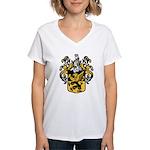 Wiess Crest V-Neck T-Shirt
