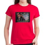 Women's Portrait in Brass Dark T-Shirt