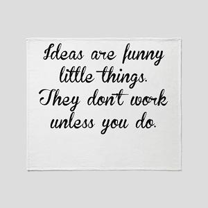 Ideas Throw Blanket