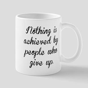 People Who Give Up Mugs