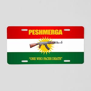 Peshmerga Aluminum License Plate