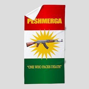 Peshmerga Beach Towel