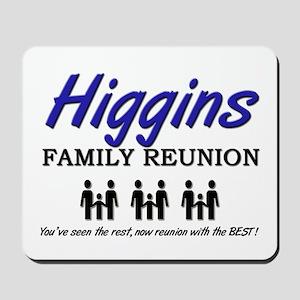 Higgins Family Reunion Mousepad