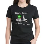 Scooter Frog Women's Dark T-Shirt