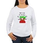 Scooter Frog Women's Long Sleeve T-Shirt