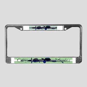 Celtic Warrior License Plate Frame