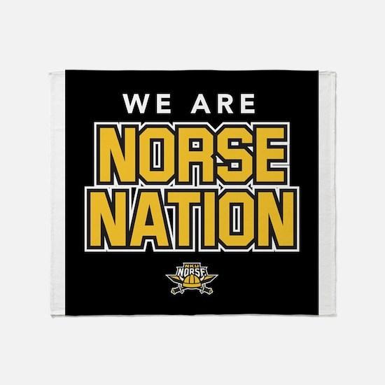 Northern Kentucky NKU Norse Nation Throw Blanket