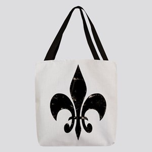 fleurdelis Polyester Tote Bag