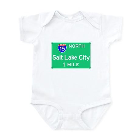 Salt Lake City UT, Interstate 15 North Infant Body