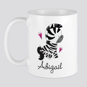 Zebra Zoo Animal Personalized Mug