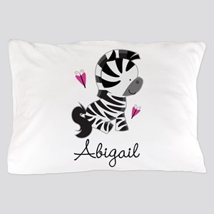 Zebra Animal Personalized Pillow Case