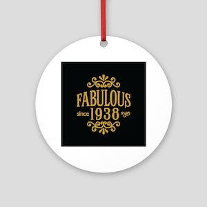 Fabulous Since 1938 Ornament (Round)