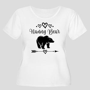 Nanny Bear Grandma Gift Plus Size T-Shirt