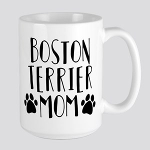 Boston Terrier Mom 15 oz Ceramic Large Mug