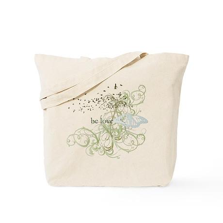 Green Chakra Tote Bag