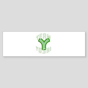 Team Yoshi Bumper Sticker