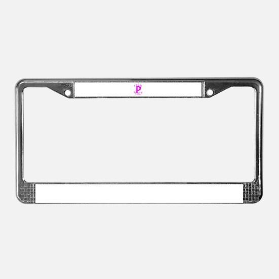Team Peach License Plate Frame