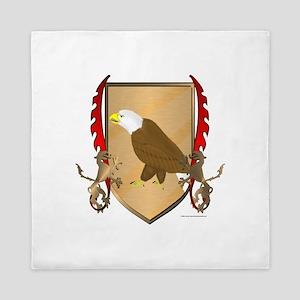 Eagle Griffon Shield Queen Duvet