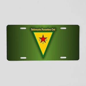 YPG Aluminum License Plate