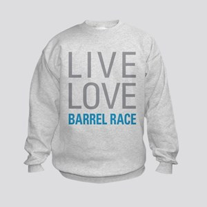 Barrel Race Kids Sweatshirt