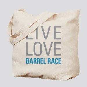 Barrel Race Tote Bag