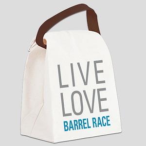 Barrel Race Canvas Lunch Bag