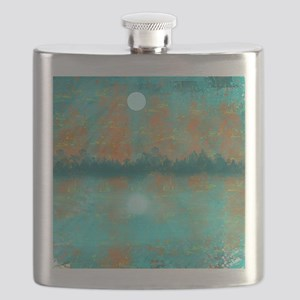 Land and Moon Flask
