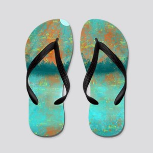 Land and Moon Flip Flops