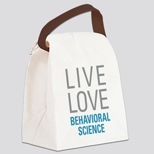 Behavioral Science Canvas Lunch Bag