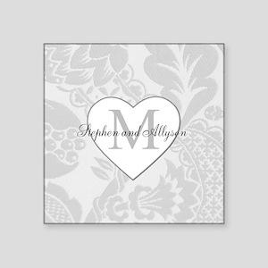 Romantic Monogram Sticker