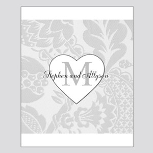 Romantic Monogram Posters