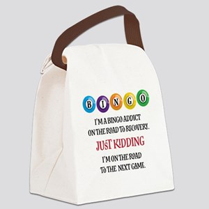 Bingo Addict Canvas Lunch Bag