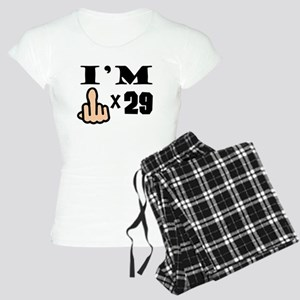 Im Middle Finger Times 29 Pajamas