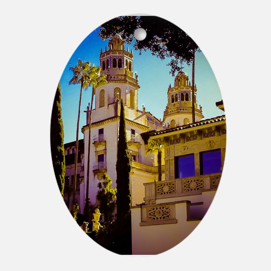 Hearst Castle Ornament (Oval)