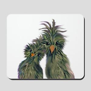 DODO DOODLE LOVE BIRDS Mousepad