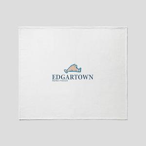 Edgartown -Martha's Vineyard. Throw Blanket