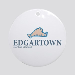 Edgartown -Martha's Vineyard. Ornament (Round)