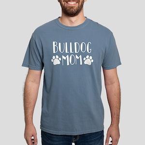 Bulldog Mom Mens Comfort Colors Shirt