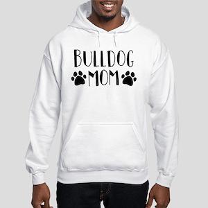 Bulldog Mom Hooded Sweatshirt