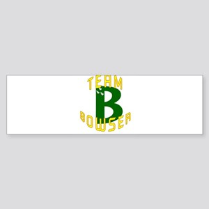 Team Bowser Bumper Sticker