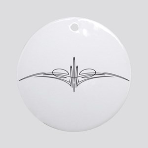 Pinstripe III Ornament (Round)