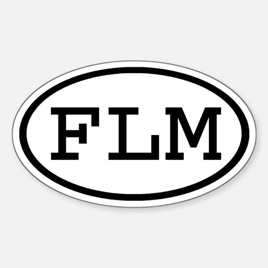 FLM Oval Oval Decal