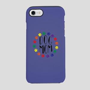 Rainbow Dog Mom iPhone 7 Tough Case