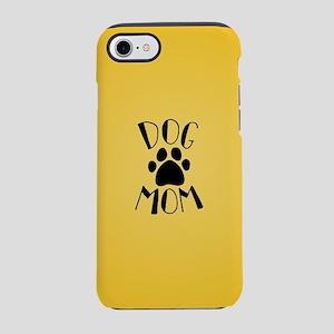 Dog Mom Paw iPhone 7 Tough Case