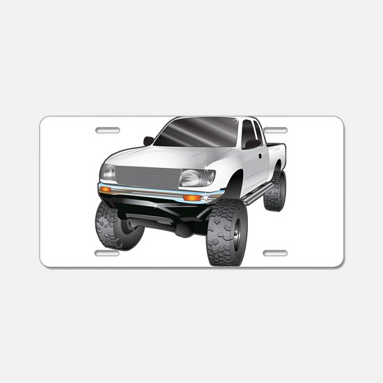 Funny Monster trucks Aluminum License Plate
