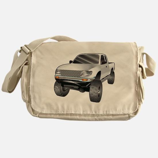 Funny Monster trucks Messenger Bag