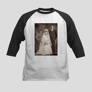 1800s bride groom antique black wh Baseball Jersey