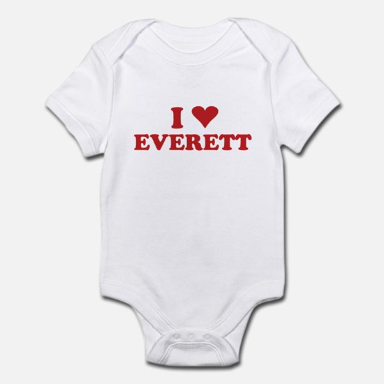 I LOVE EVERETT Infant Bodysuit