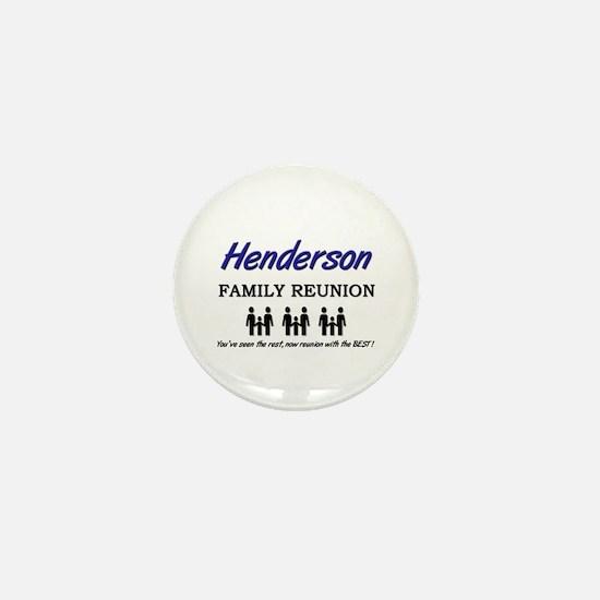 Henderson Family Reunion Mini Button